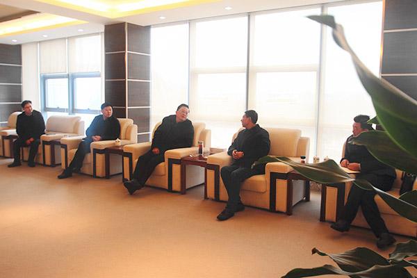 王永海副市长等一行来公司调研节后复工情况